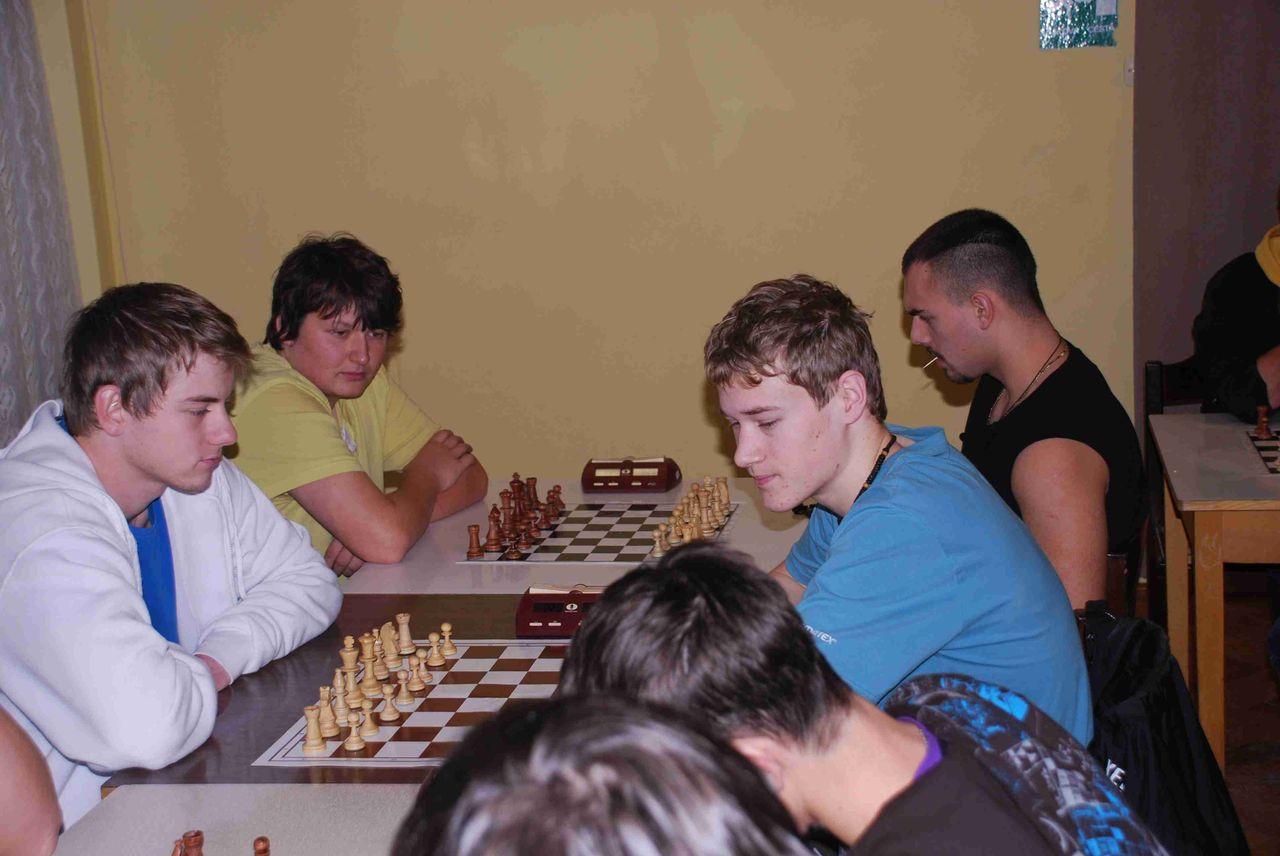 Okresní přebor škol v šachu 2012-2013