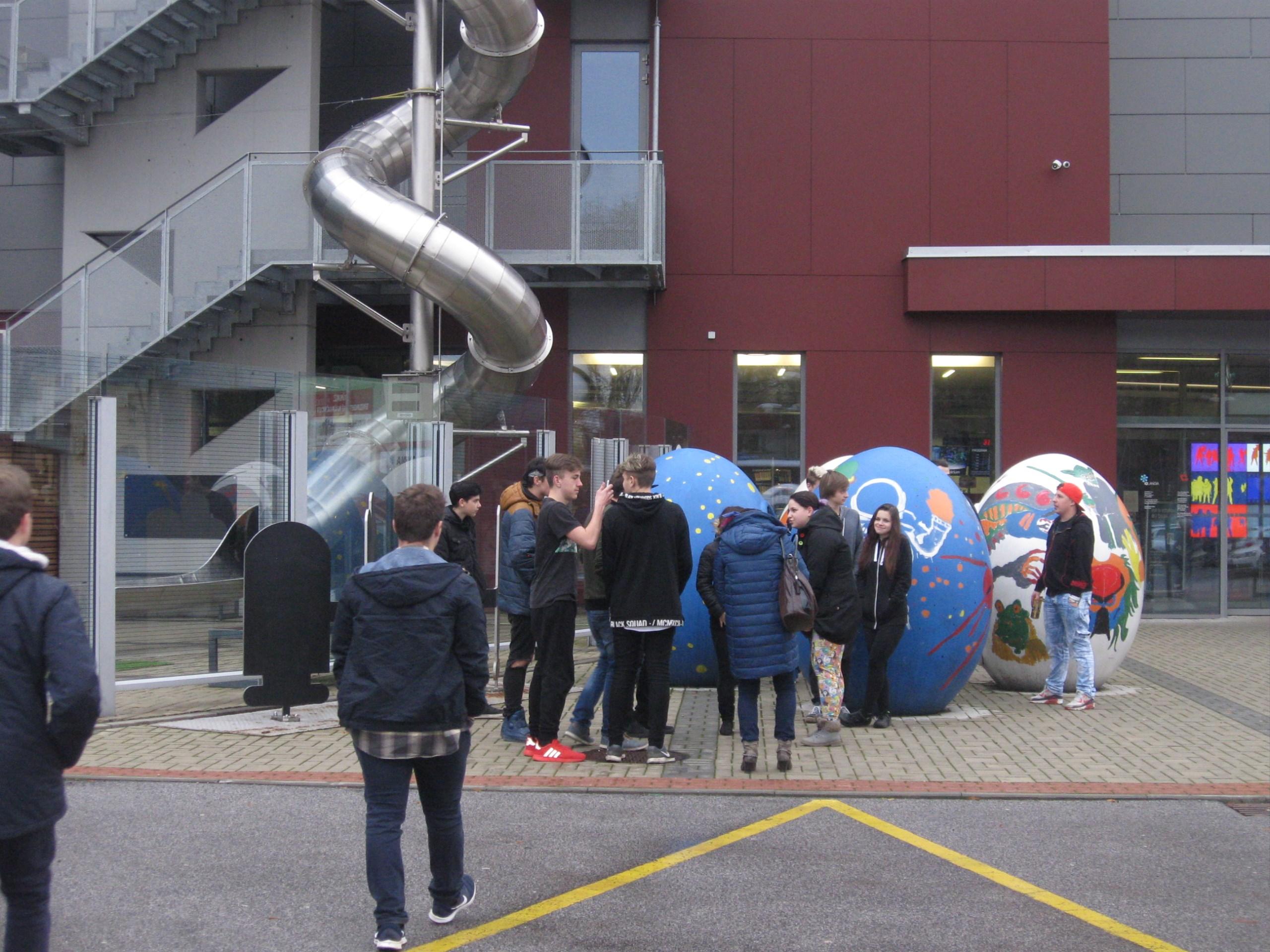 Exkurze Centrum Babylon Liberec a iQLANDIE
