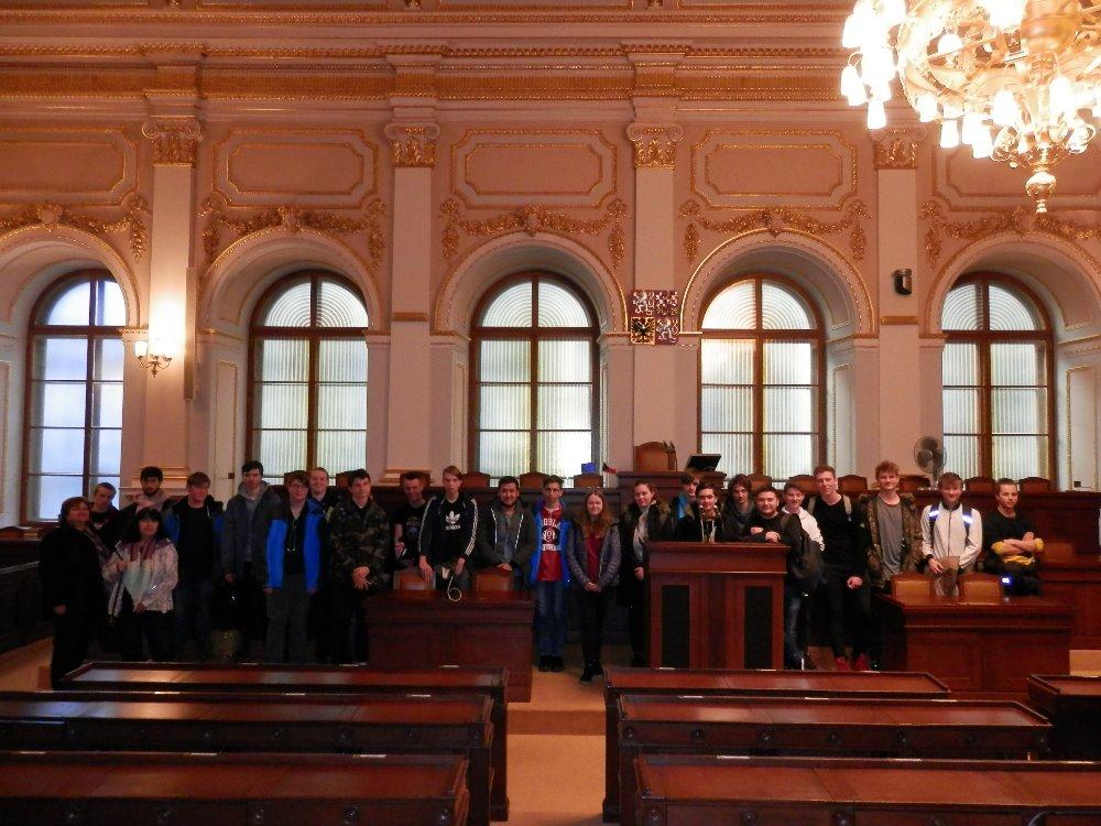 Podívali jsme se do Poslanecké sněmovny Parlamentu České republiky