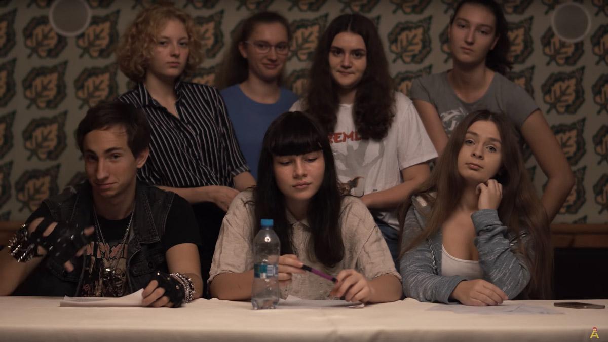 """Naše škola se stala partnerem filmu """"Režisérka"""""""
