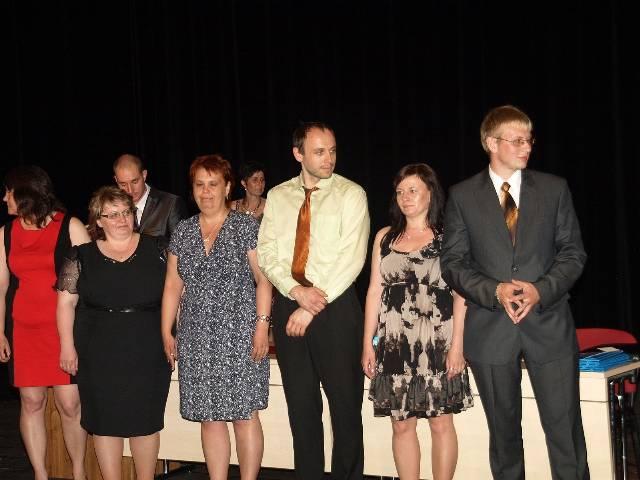 Slavnostní vyřazení absolventů maturitních oborů