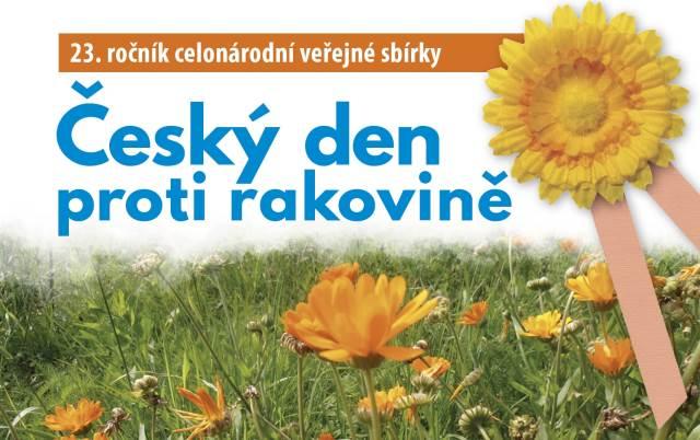 Budeme se podílet na sbírce Český den proti rakovině