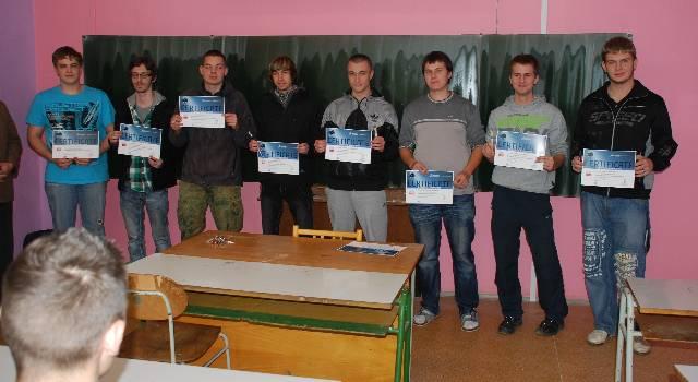 Studenti skládají zkoušku CSWA