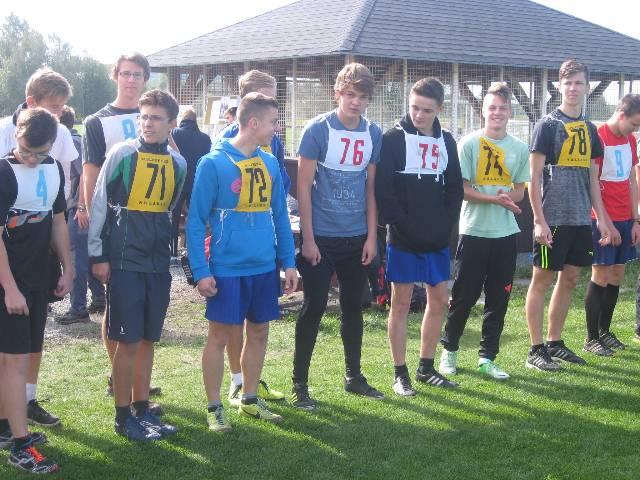 Přespolní běh středních škol v Solnici