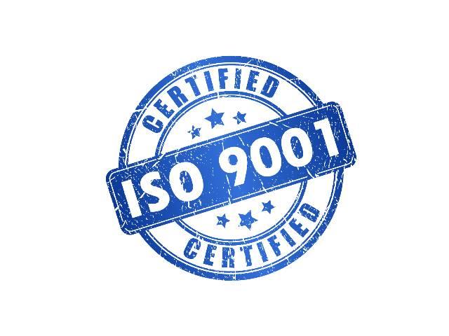 Certifikát kvality ISO 9001