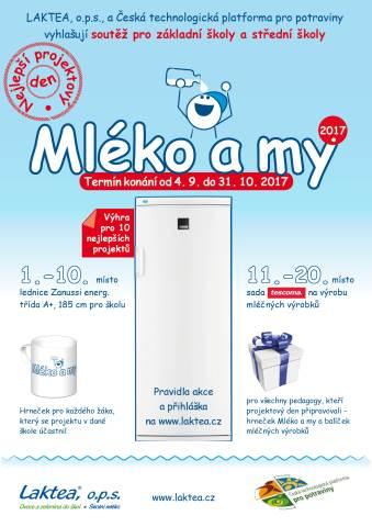 Soutěž pro školy - Mléko a my