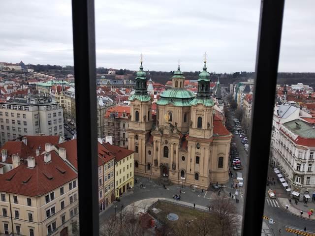 Návštěva Prahy - Staroměstské radnice a České národní banky