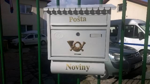 Poštovní schránka pro přihlášky na SŠ