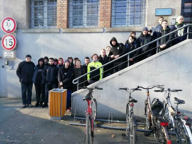 Exkurze ve vazební věznici v Hradci Králové