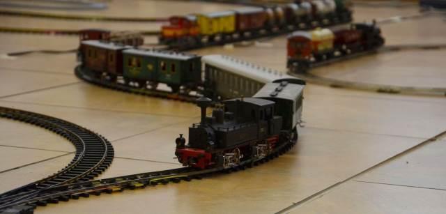 Velká výstava modelů lokomotiv a vlakových souprav s unikátní elektronikou